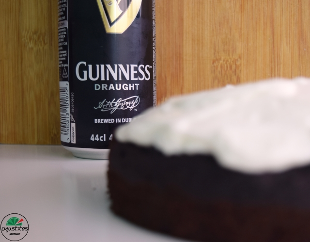 Tarta guiness light fitness agustitos cerveza