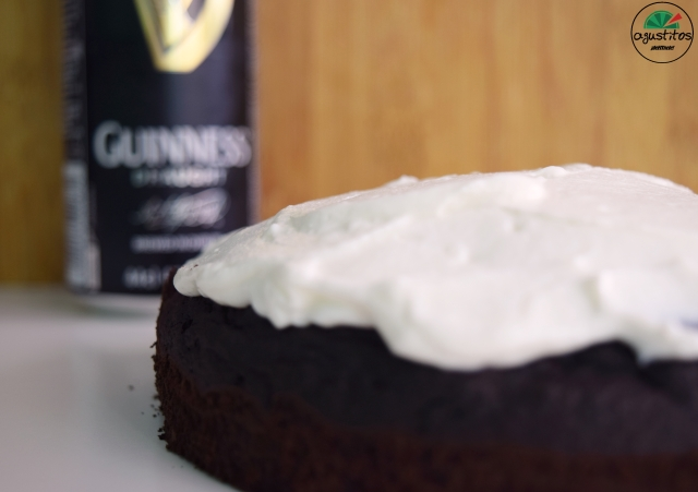 Tarta Guiness light fitness agustitos