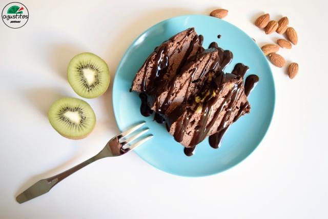Bizcocho chocolate kiwi light fitness agustitos y café burdet (3)