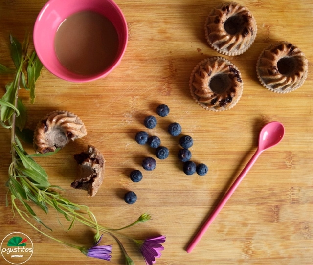 Muffins de avena con chispas de chocolate fitness light agustitos.JPG